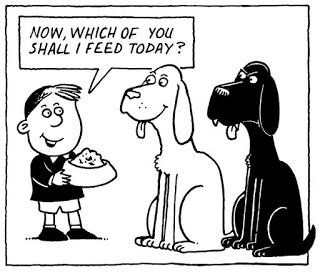 Well... Which Self to Choose? ;-)  (Cartoon taken from http://mylifeintupperware.blogspot.de/2012/04/feeding-right-dog.html)