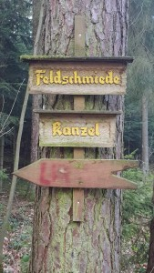 """Kanzel"" means pulpit (Photo by Susanne Schuberth)"