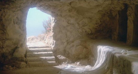 Empty Tomb  Source http://www.answering-christianity.com/empty-tomb.jpg
