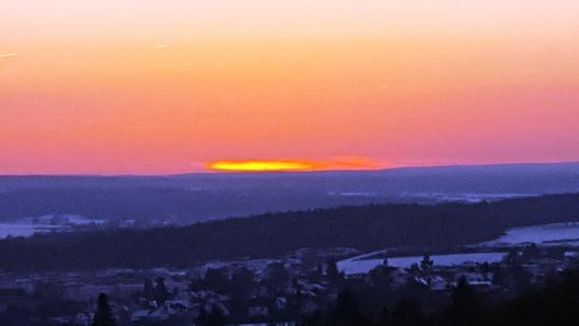After the Sunset... (Photo by Susanne Schuberth, colors enhanced by Michael Clark)